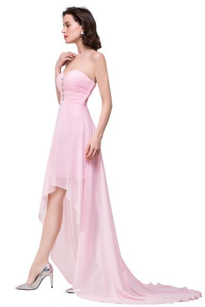 Sweetheart Chiffon A-line Hilo Bridesmaid Dress_6