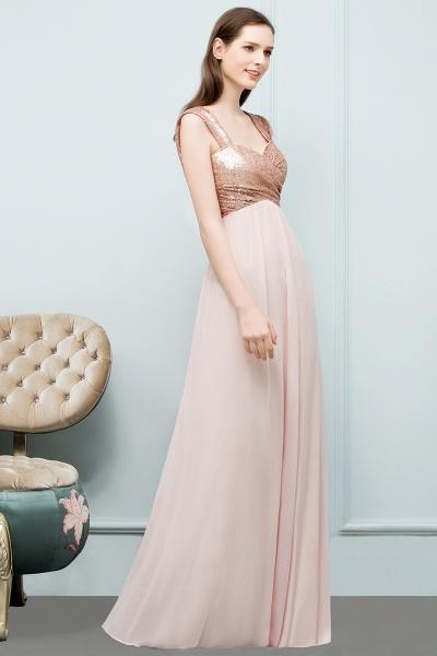Chic Off-the-shoulder Chiffon A-line Evening Dress_6