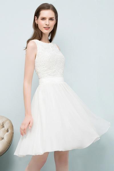 Modest Jewel Chiffon A-line Homecoming Dress_6