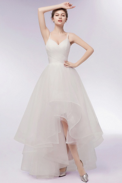 Awesome Sweetheart Tulle A-line Evening Dress_1