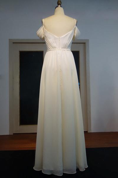 JOCELYN   A-line Spaghetti Sweetheart Floor Length Ruffled Ivory Chiffon Prom Dresses_3