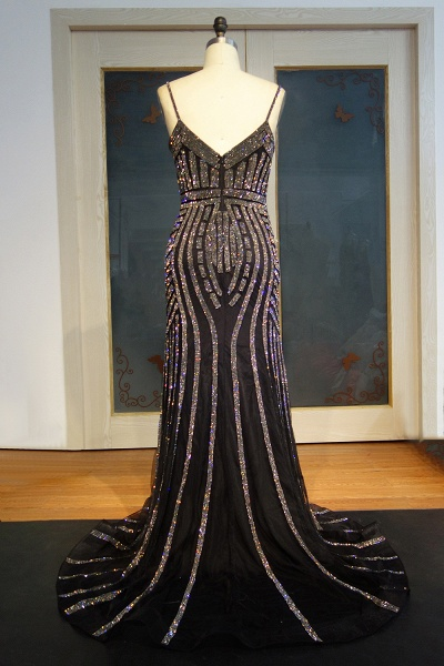 JAYLEE   Sheath Spaghetti Sweetheart Floor Length Sequined Patterns Prom Dresses_3