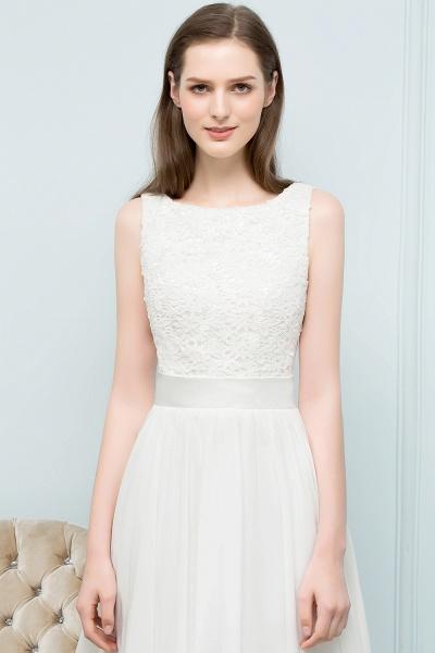 Modest Jewel Chiffon A-line Homecoming Dress_8
