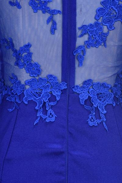 VICKIE | Mermaid Floor Length Illusion Top Long Sleeves Lace Prom Dresses_6