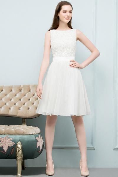 Modest Jewel Chiffon A-line Homecoming Dress_12