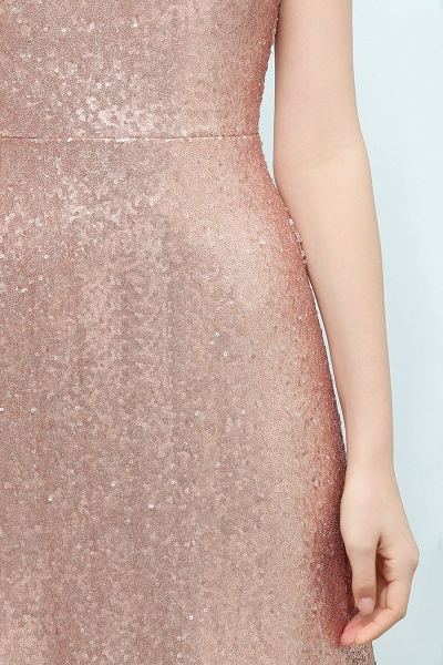 A-line Sequined Scoop Sleeveless Floor-Length Bridesmaid Dress_6