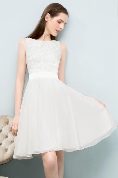Modest Jewel Chiffon A-line Homecoming Dress_4