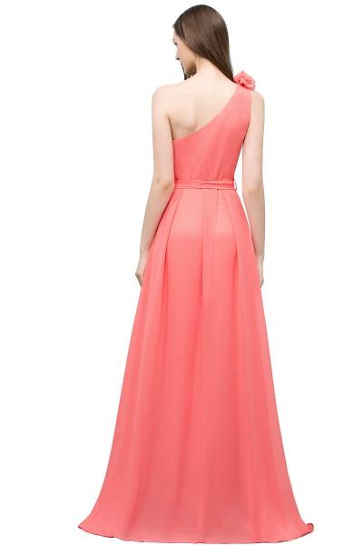 Amazing One Shoulder Chiffon A-line Evening Dress_3