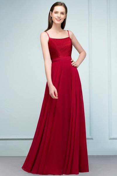 Sleek Bateau Chiffon A-line Evening Dress_1