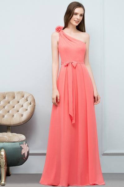 Amazing One Shoulder Chiffon A-line Evening Dress_6