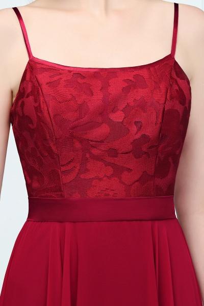 Sleek Bateau Chiffon A-line Evening Dress_4