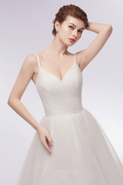 Awesome Sweetheart Tulle A-line Evening Dress_11