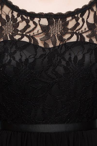 A-Line Chiffon Lace Scoop Sleeveless Knee-Length Bridesmaid Dresses_6