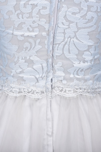 THEA   A-line Long Sleeves Short Lace Appliques Tulle Prom Dresses_6