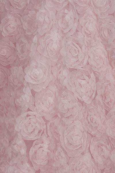 TATUM | Mermaid Long Sleeves Appliques Prom Dress with Pink Beadings_6