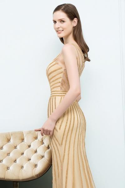 Graceful Jewel Tulle Mermaid Evening Dress_4