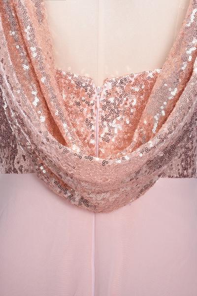 TESSIE | A-line Sweetheart Sleeveless Long Sequins Chiffon Prom Dresses_8