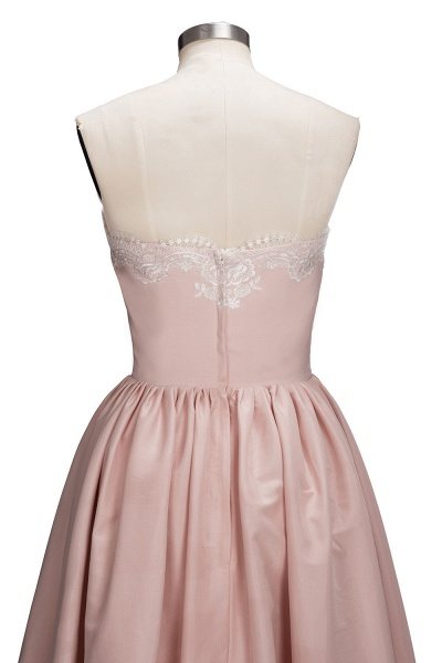TIFFANY | A-line Strapless Sweetheart High-low Sleeveless Prom Dresses_6