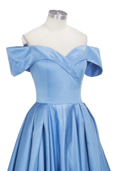 TORRIE   Ball Gown Off-shoulder Floor Length Blue Prom Dresses_10