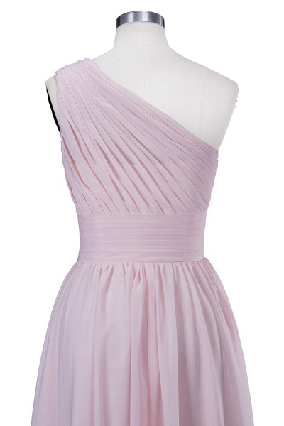 VIOLET | A-line One-shoulder Floor Length Ruffled Chiffon Bridesmaid Dresses_4