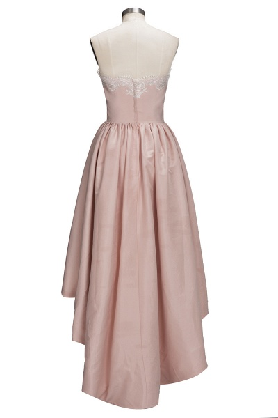 TIFFANY | A-line Strapless Sweetheart High-low Sleeveless Prom Dresses_3