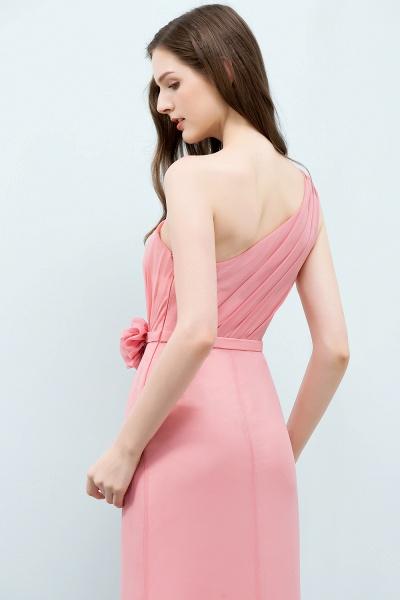 One Shoulder Mermaid Floor Length Bridesmaid Dress_9