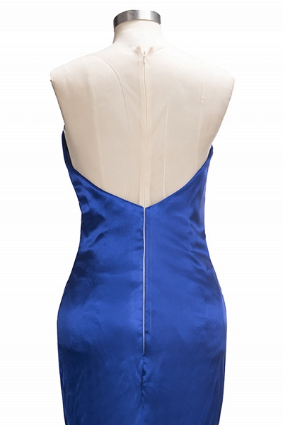 TERESA | Mermaid Floor Length V-neck Sleeveless Split Prom Dresses_5