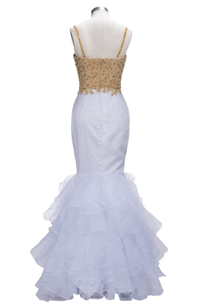 THALIA | Mermaid Spaghetti Sweetheart Long Tulle Prom Dresses with Crystals_3