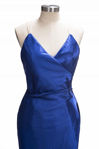 TERESA | Mermaid Floor Length V-neck Sleeveless Split Prom Dresses_4