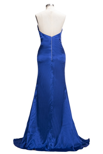 TERESA | Mermaid Floor Length V-neck Sleeveless Split Prom Dresses_3