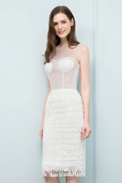 Wonderful Jewel Lace Mermaid Evening Dress_4
