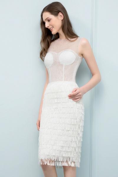 Wonderful Jewel Lace Mermaid Evening Dress_5