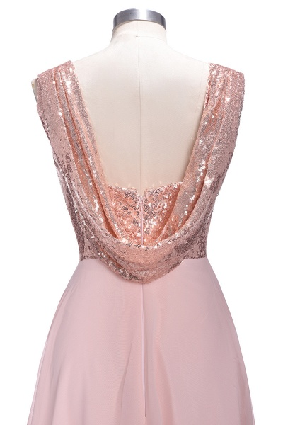TESSIE | A-line Sweetheart Sleeveless Long Sequins Chiffon Prom Dresses_7