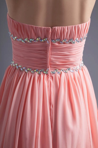 Excellent Sweetheart Chiffon A-line Bridesmaid Dress_9