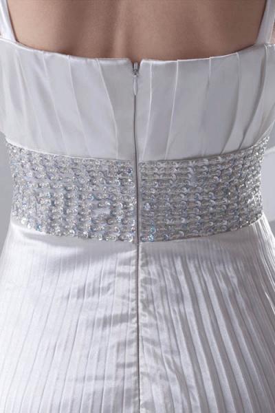 Beautiful V-neck Chiffon A-line Bridesmaid Dress_7