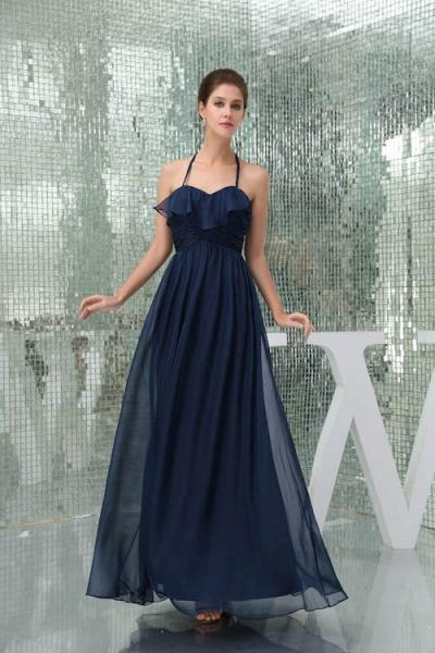 Awesome Sweetheart Chiffon A-line Bridesmaid Dress_4
