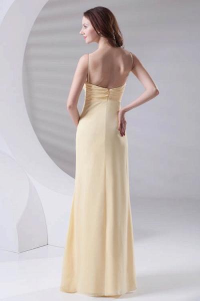 LILIANNA | A-line Spaghetti-Straps Floor Length Chiffon Bridesmaid Dresses_3
