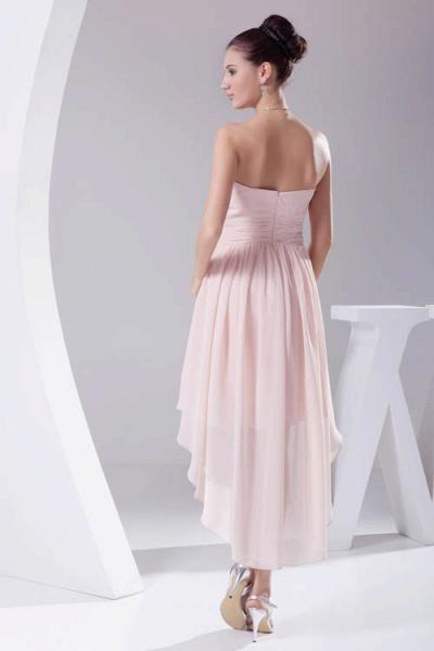 Amazing Strapless Chiffon A-line Bridesmaid Dress_3