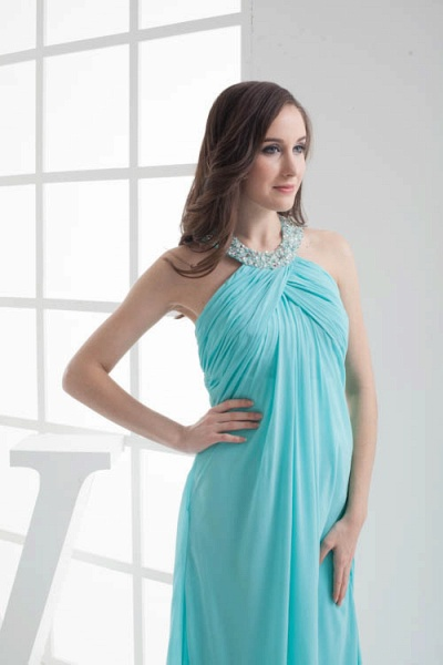 Strapless Column Ankle Length Bridesmaid Dress_6