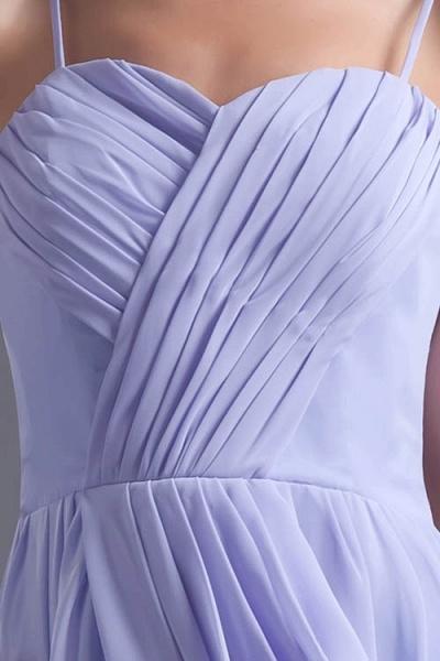Fascinating Sweetheart Chiffon A-line Bridesmaid Dress_9