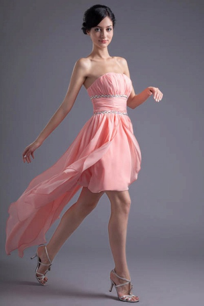 Excellent Sweetheart Chiffon A-line Bridesmaid Dress_4