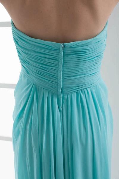 Strapless Column Ankle Length Bridesmaid Dress_10
