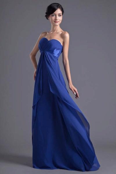 Precious Sweetheart Chiffon A-line Bridesmaid Dress_5