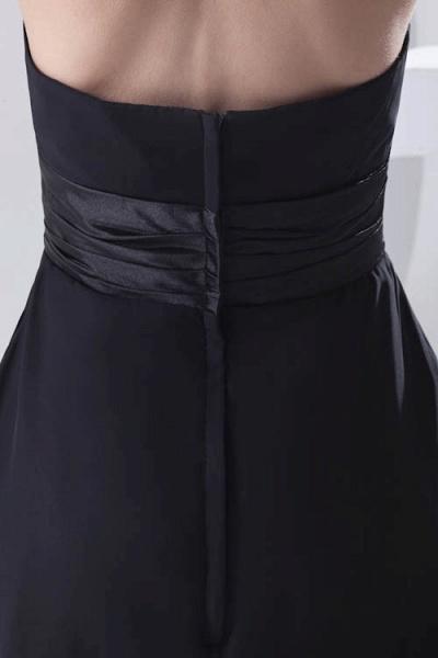 Elegant Halter Chiffon A-line Bridesmaid Dress_7