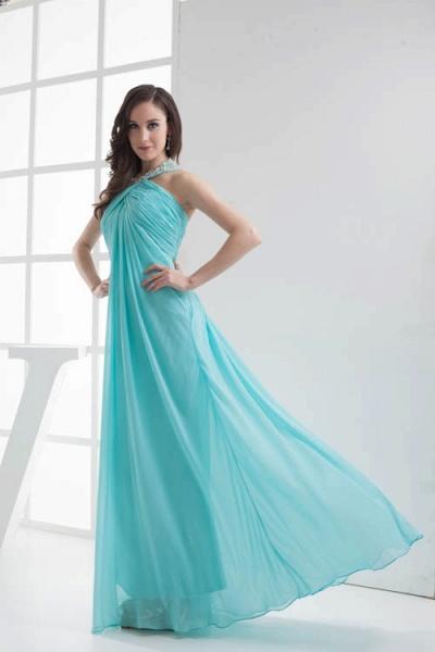 Strapless Column Ankle Length Bridesmaid Dress_8