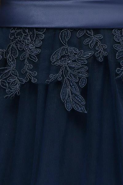 Sleek Jewel Tulle A-line Evening Dress_13