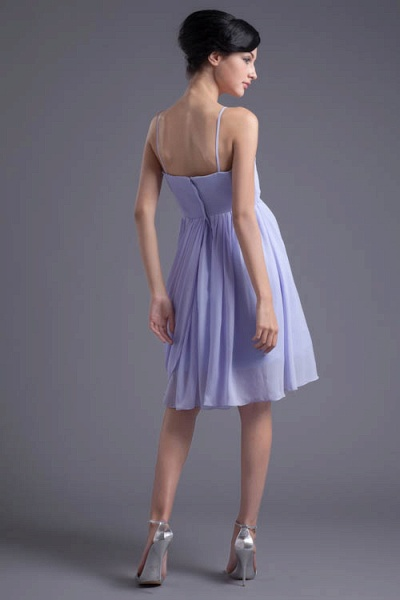 Fascinating Sweetheart Chiffon A-line Bridesmaid Dress_5