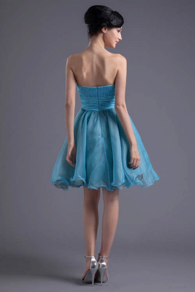 Best Strapless Chiffon A-line Bridesmaid Dress_3