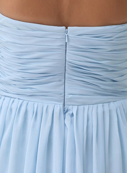 Precious Halter Chiffon A-line Bridesmaid Dress_4