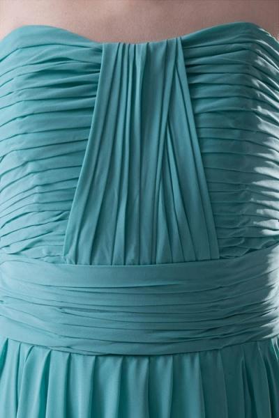 Amazing Strapless Chiffon A-line Bridesmaid Dress_7